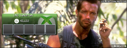 Xbox Live Gamercard Creators LNGSandman